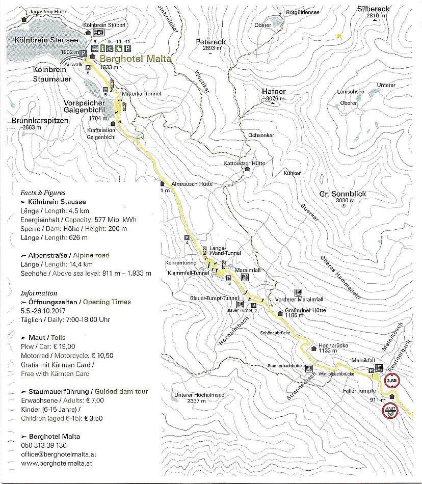 Hochalmstrasse mapa