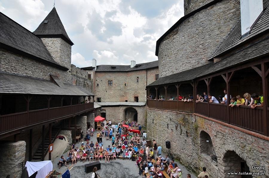Zamek Sovinec