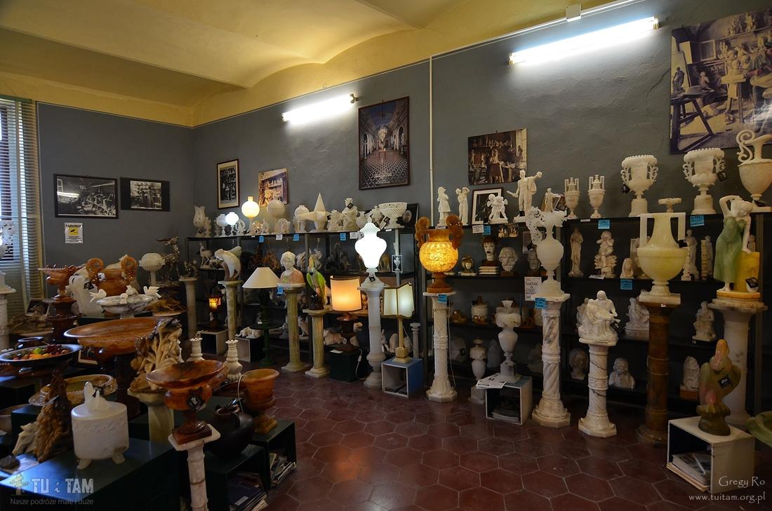 Volterra, warsztat alabastru