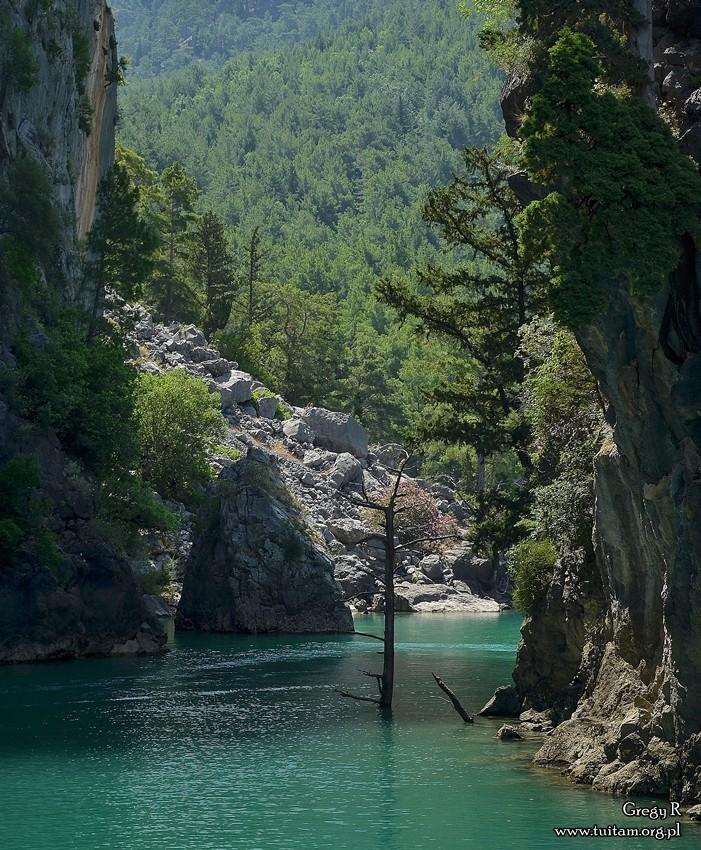 Zielony Kanion Turcja