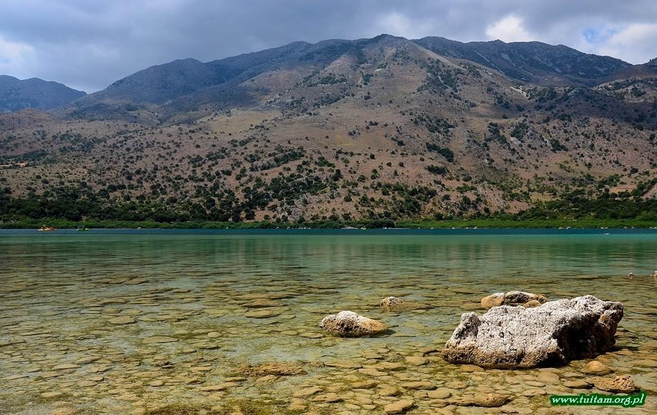 Kreta jezioro Kournas
