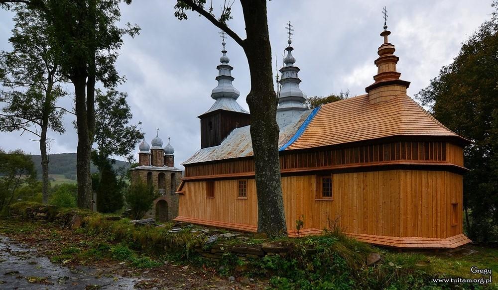 Bieszczadzkie cerkwie Cerkiew w Radoszycach