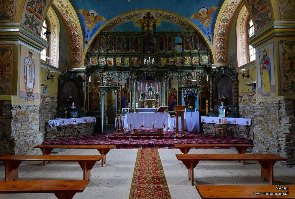 Bieszczadzkie cerkwie Cerkiew w Nowym Łupkowie