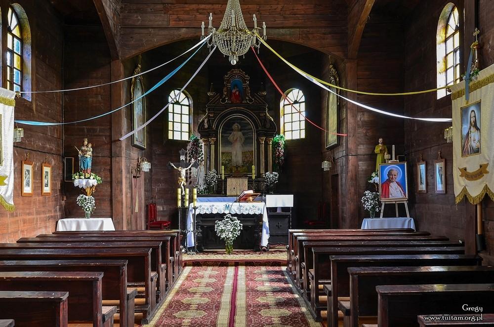 Bieszczadzkie cerkwie Cerkiew w Chmielu