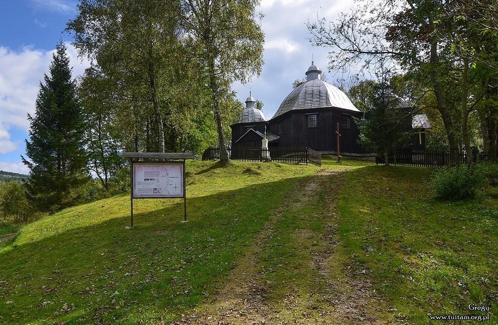 Bieszczadzkie cerkwie Cerkiew w Michniowcu