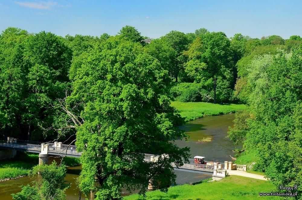 Łęknica, Park Mużakowski