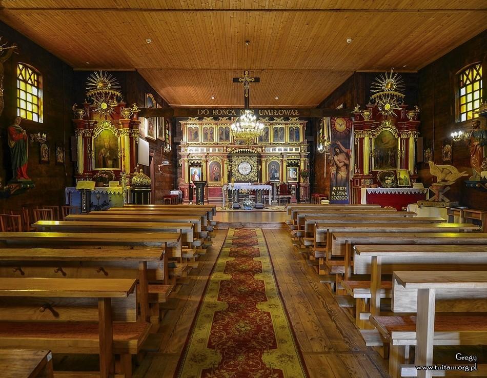Bieszczadzkie cerkwie Cerkiew w Czarnej