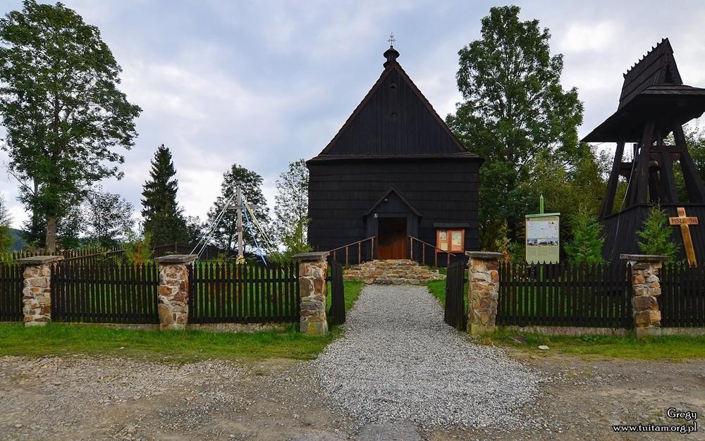Bieszczadzkie cerkwie Cerkiew w Żłobku