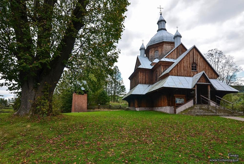 Bieszczadzkie cerkwie Cerkiew w Hoszowie