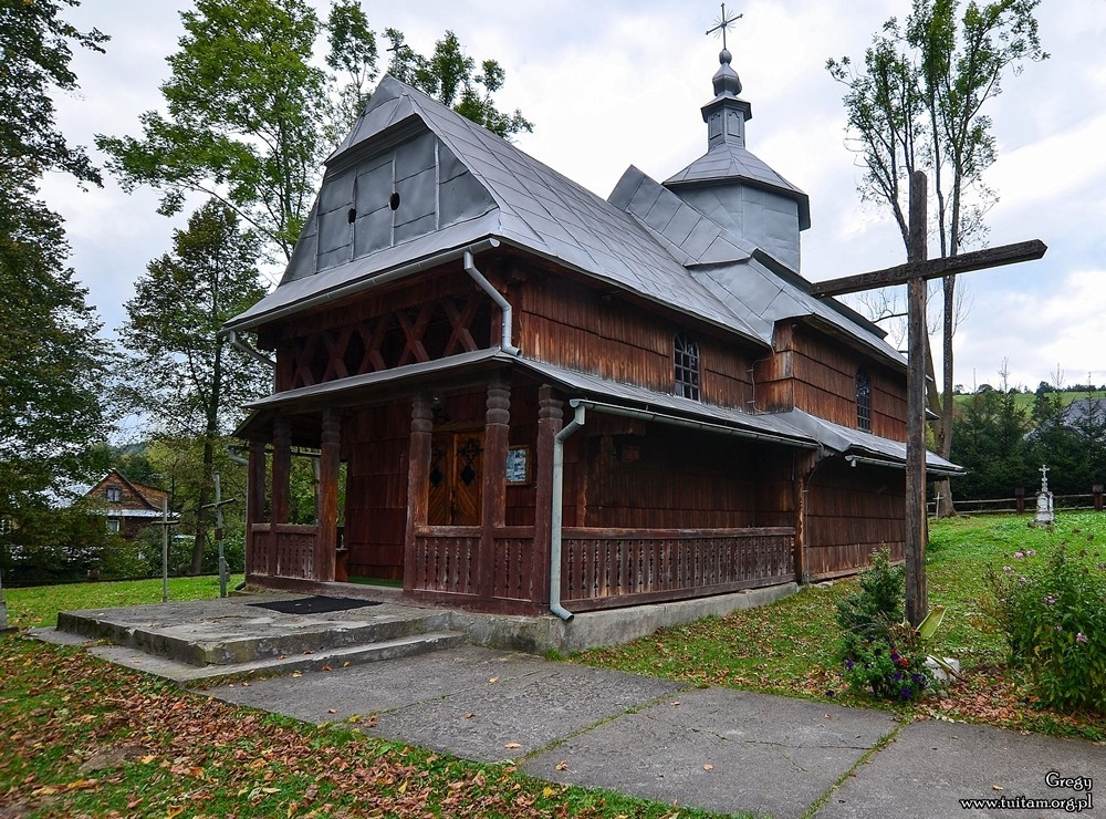 Bieszczadzkie cerkwie Cerkiew w Rabem