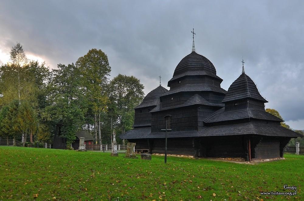 Bieszczadzkie cerkwie Cerkiew w Równi