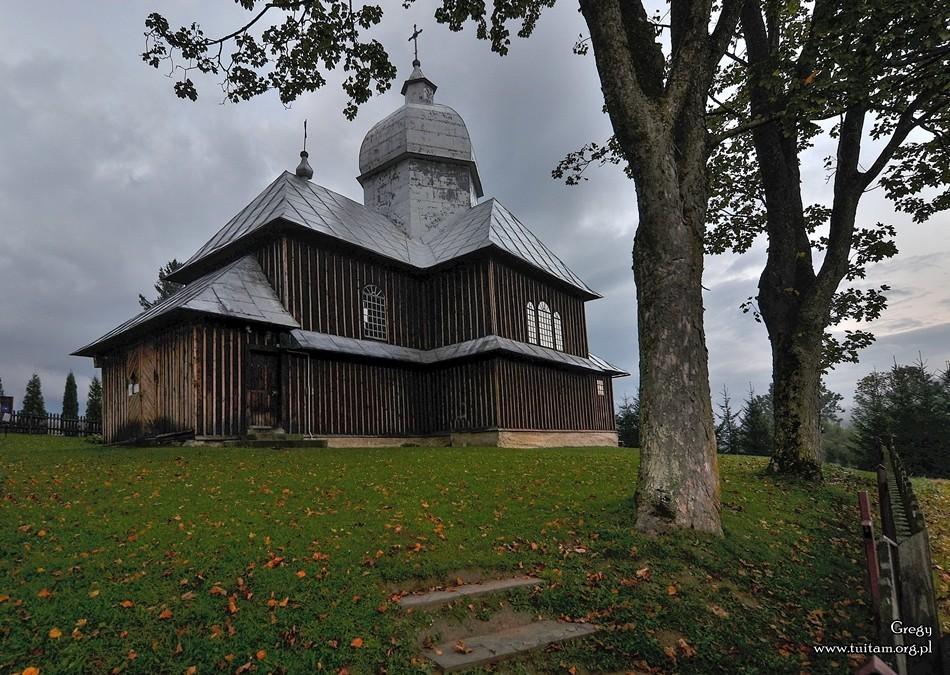 Bieszczadzkie cerkwie Cerkiew w Hoszowczyku