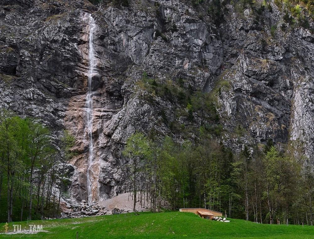Hallstatt Lahn wodospady