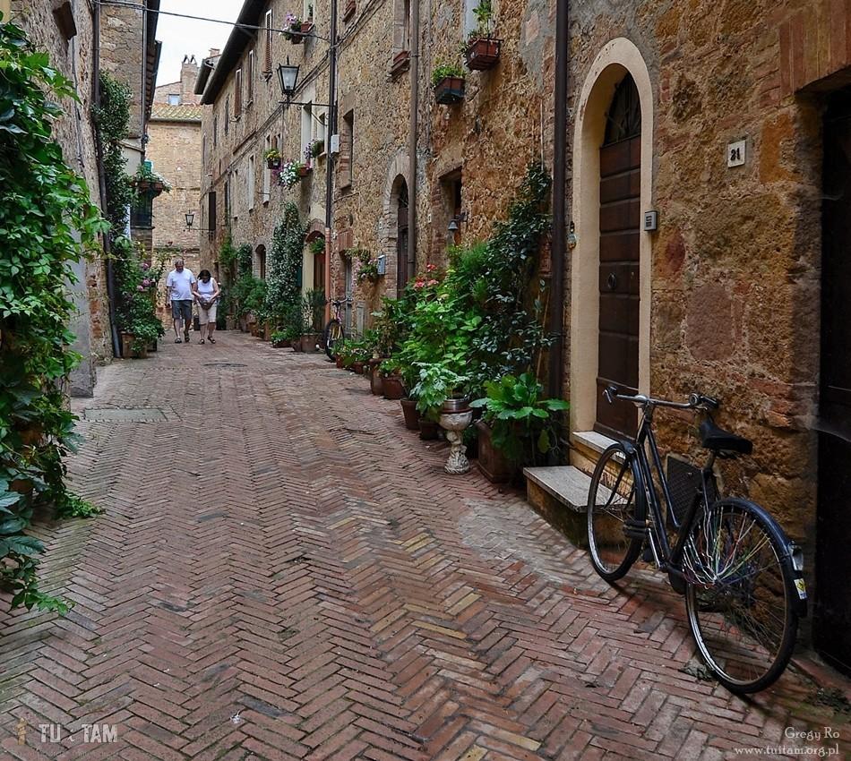 Pienza Stare miasto