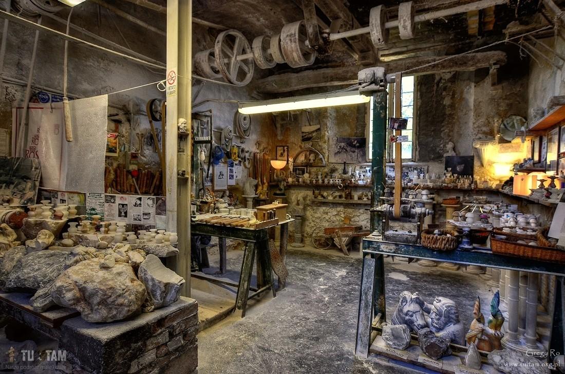 Volterra pracownia alabastru