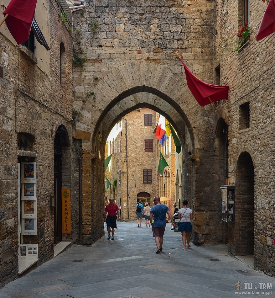 San Gimignano, Toskania, Toscana