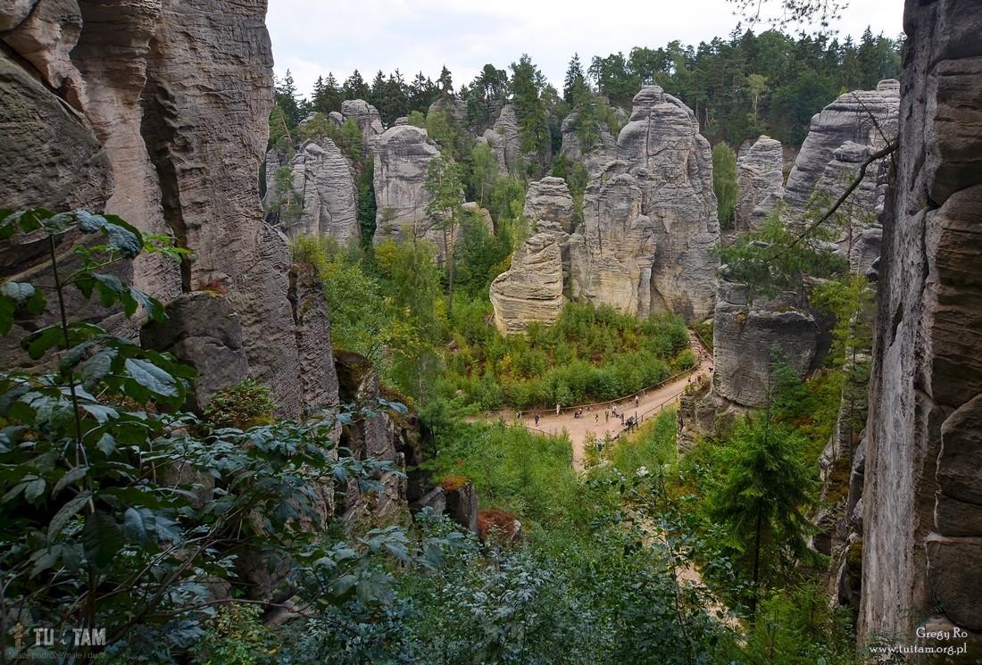 Prachowskie skały, Prachovske skaly