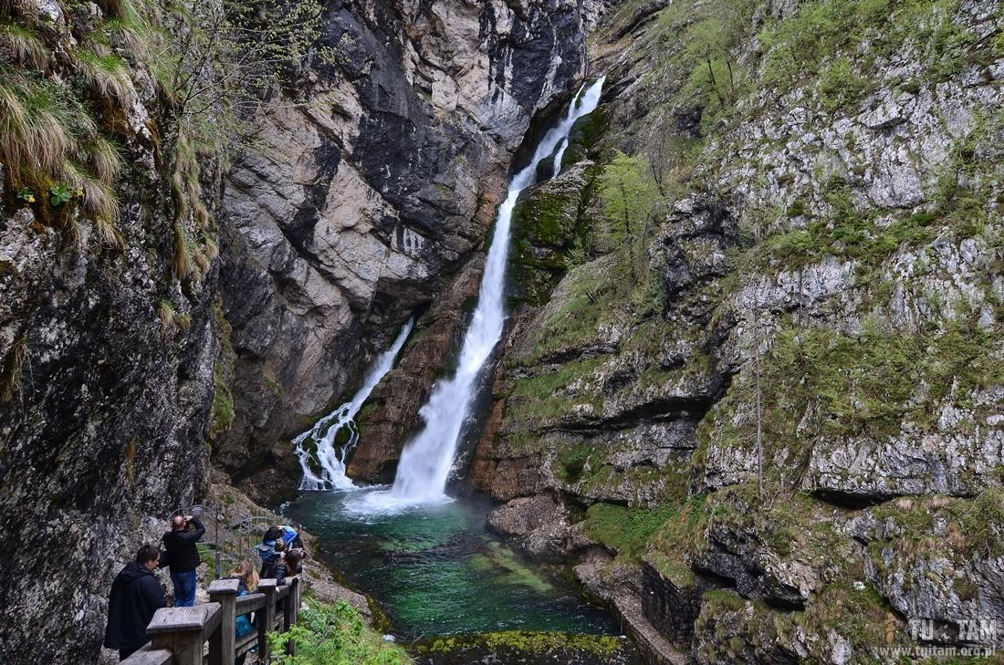 Savica wodospad, Słowenia