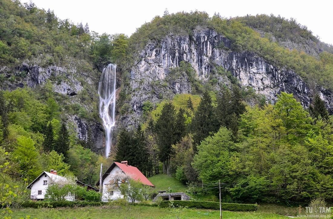 Słowenia wodospady