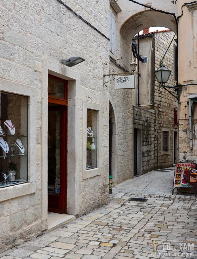 Chorwacja, Trogir - starówka