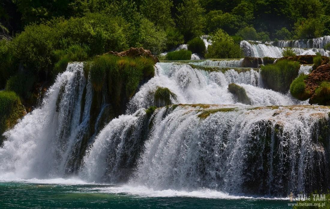 Krka wodospady