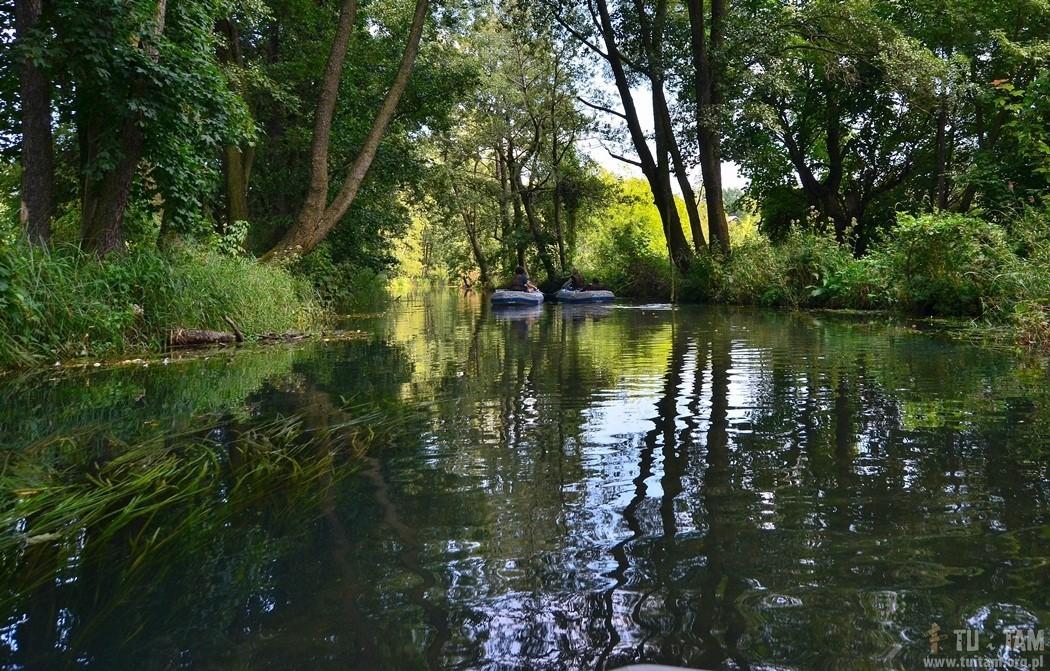 Lelów, spływ rzeką Białką