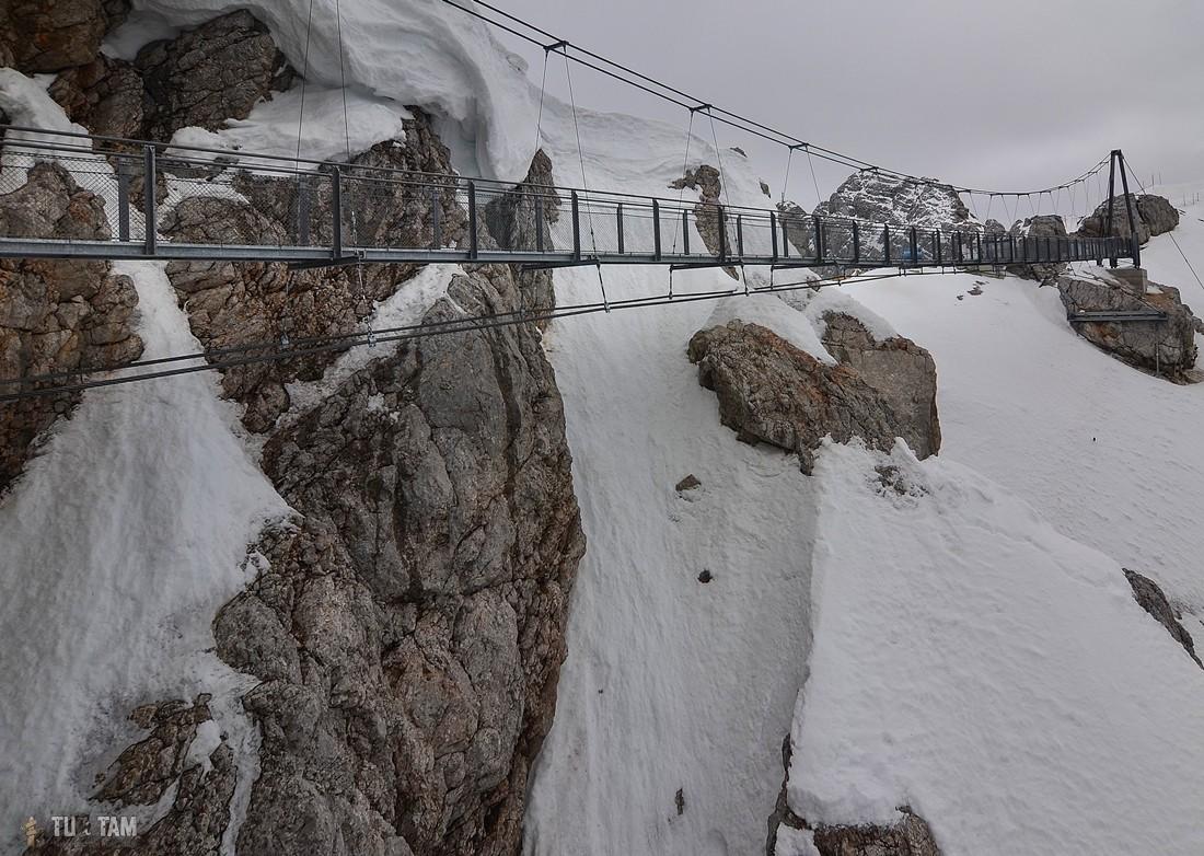 Dachstein Hoher most wiszący
