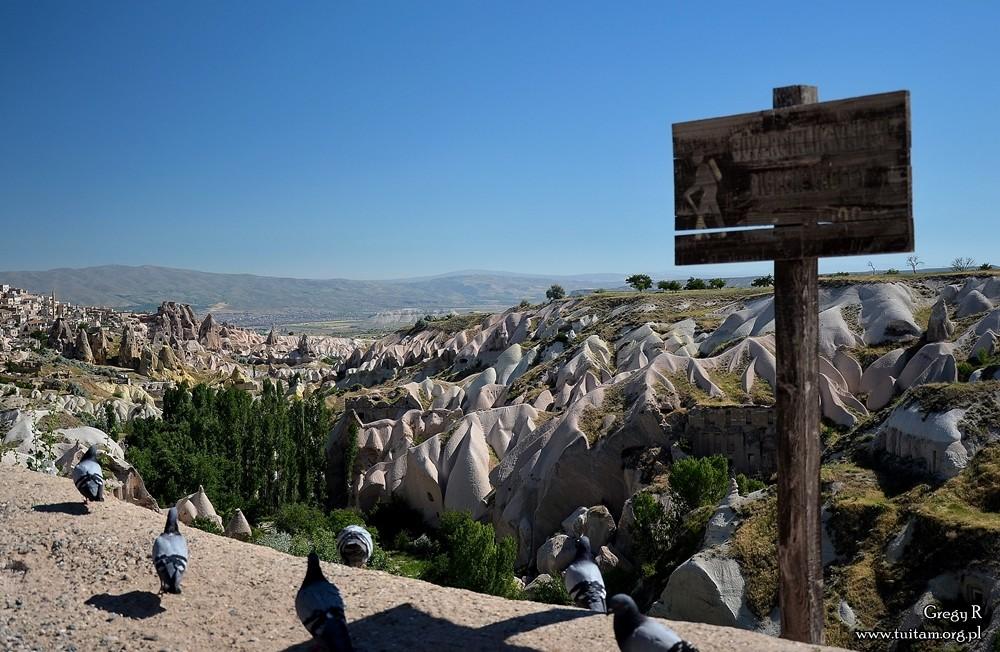 Kapadocja Dolina gołębi