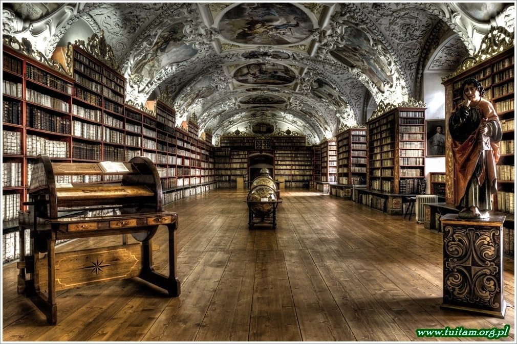 Praga Biblioteka na Strachowie