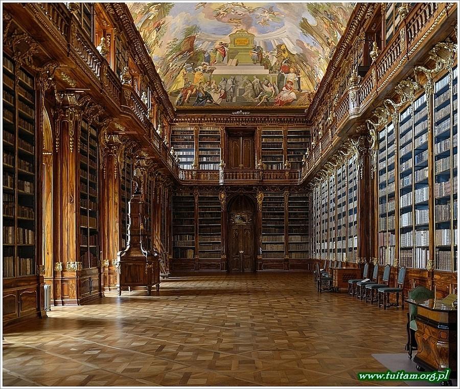 Klasztor na Strachovie biblioteka