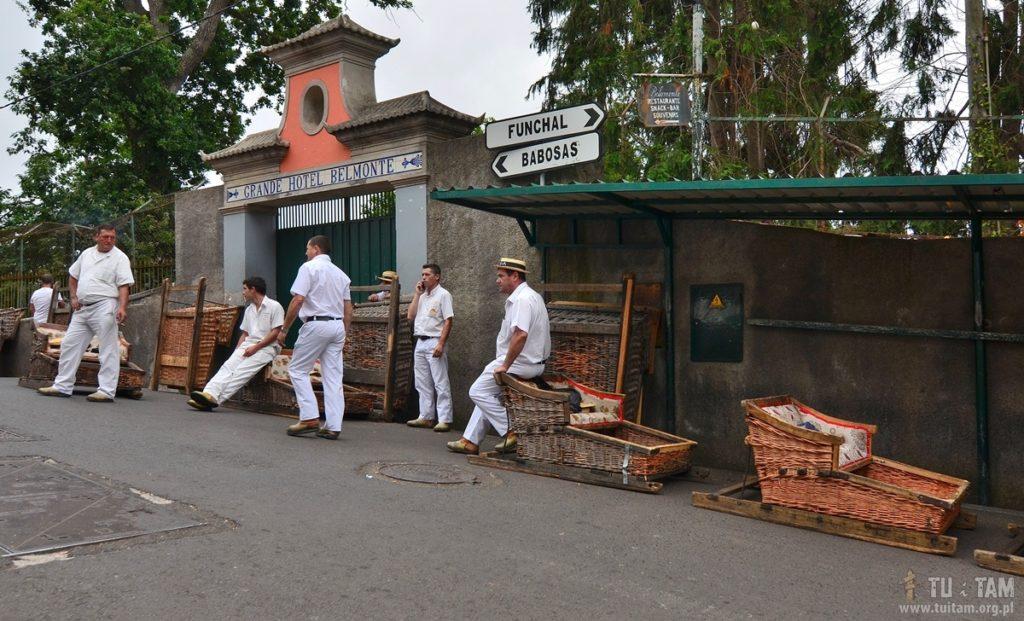 Funchal stacja początkowa koszy