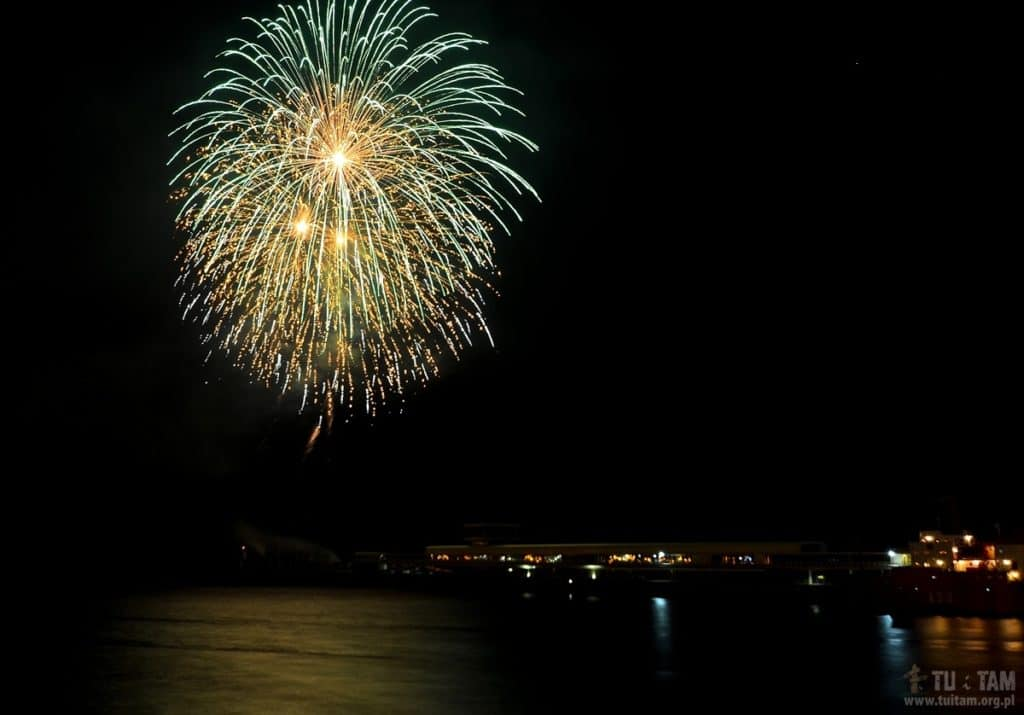 Funchal pokaz fajerwerków