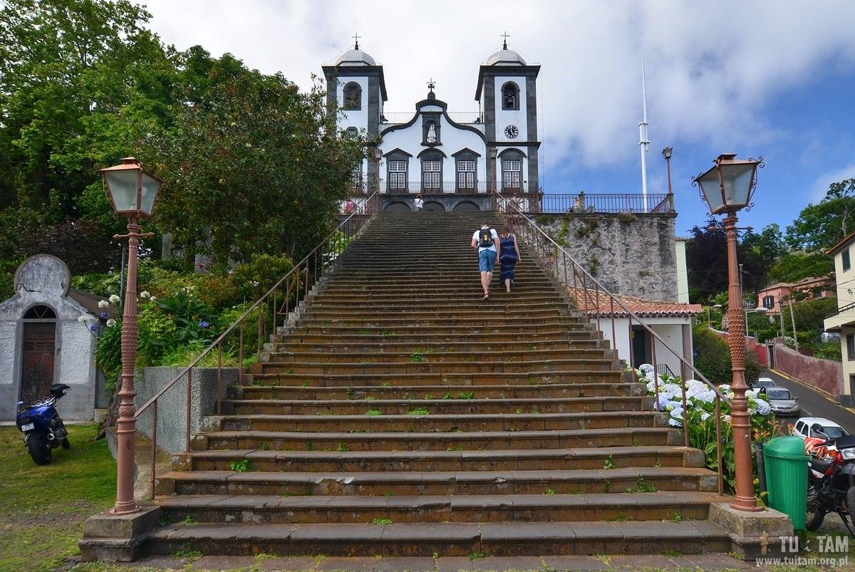 Funchal Monte Sanktuarium Matki Bożej Pokoju