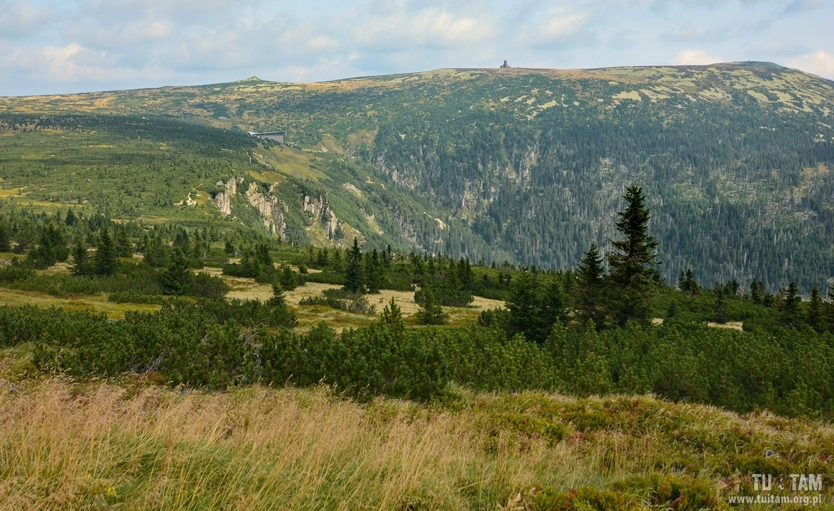 krajobraz z Vrbatowej Boudy