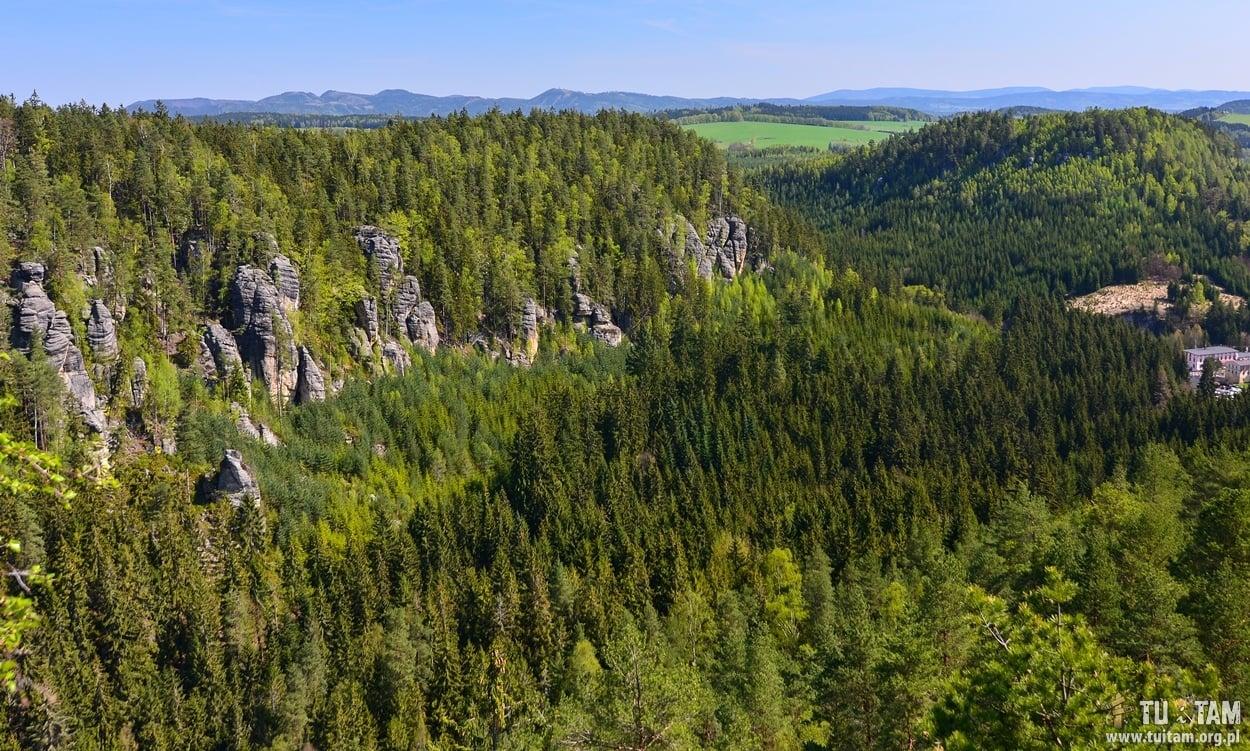 Teplickie Skały, Czechy