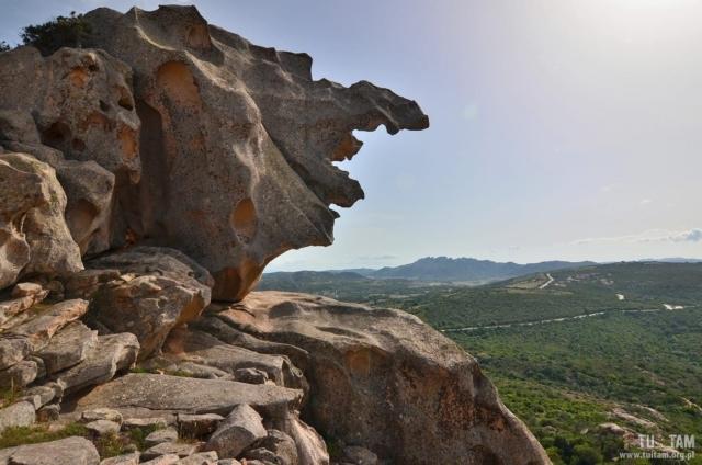 Sardynia Jaskinia Niedźwiedzia, Roccia dell'Orso