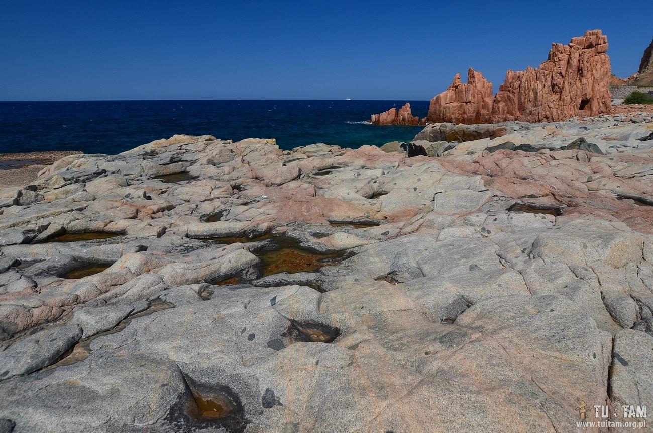 Sardynia Czerwone Skały, Arbatax