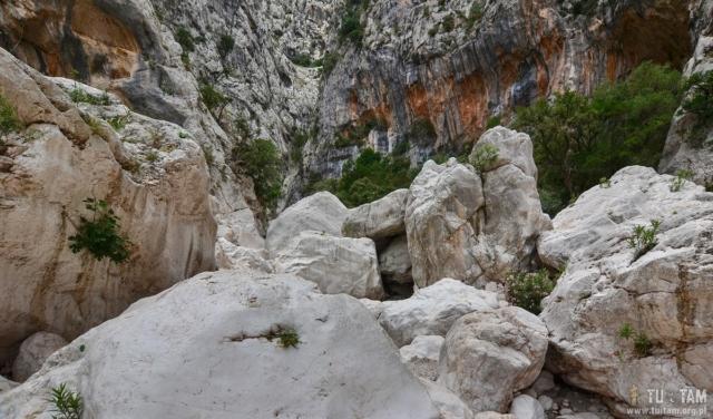 Sardynia - wąwóz Gorropu