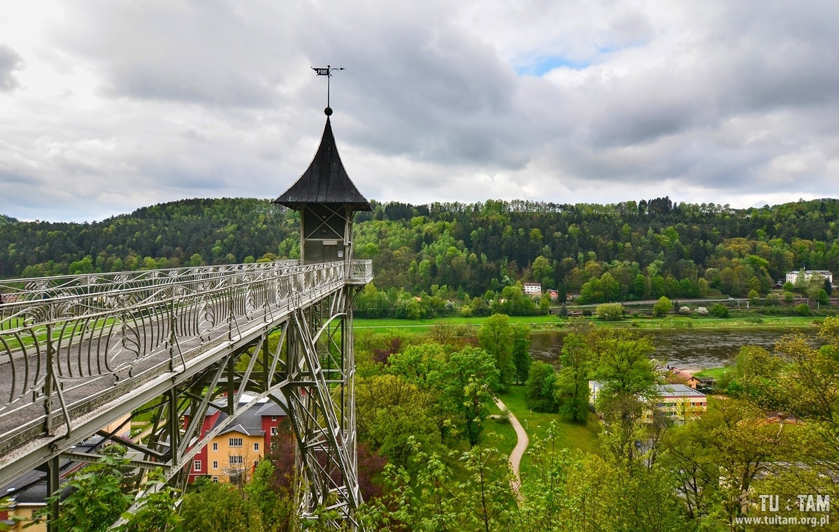 Szwajcaria saksońska - winda