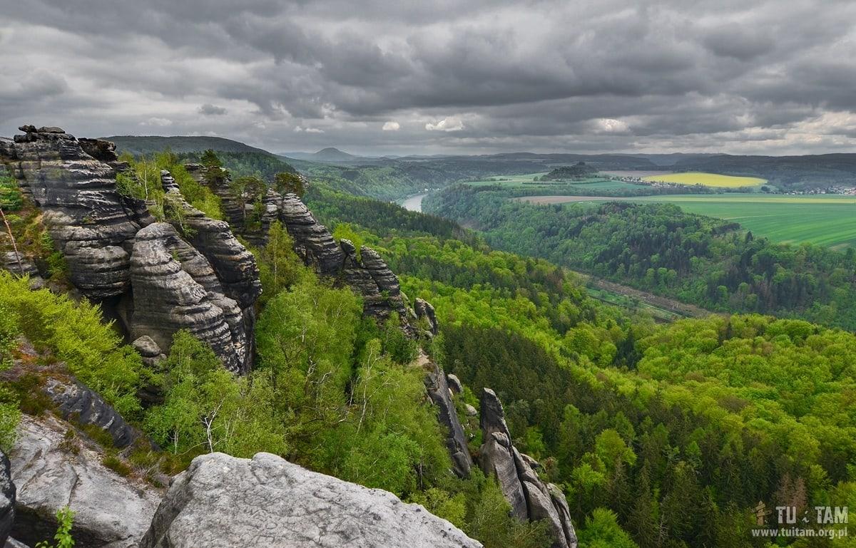 Szwajcaria saksońska - Schrammstein