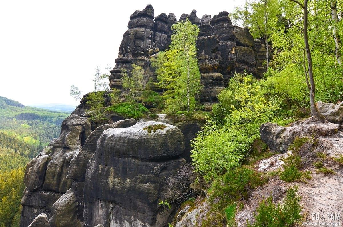 Szwajcaria saksońska - na szlaku