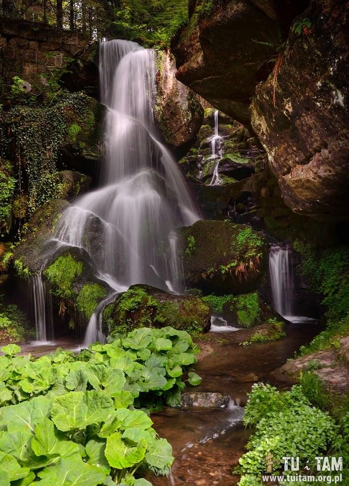 Szwajcaria saksońska - wodospad