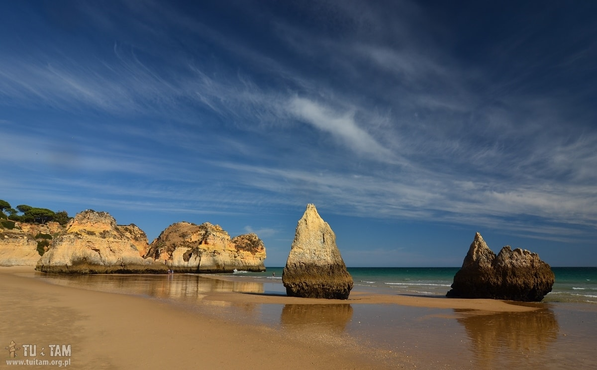 Algarve Najpiekniejsze Plaze