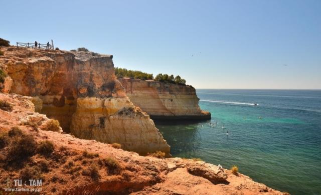 Algarve coast, wybrzeże Algarve