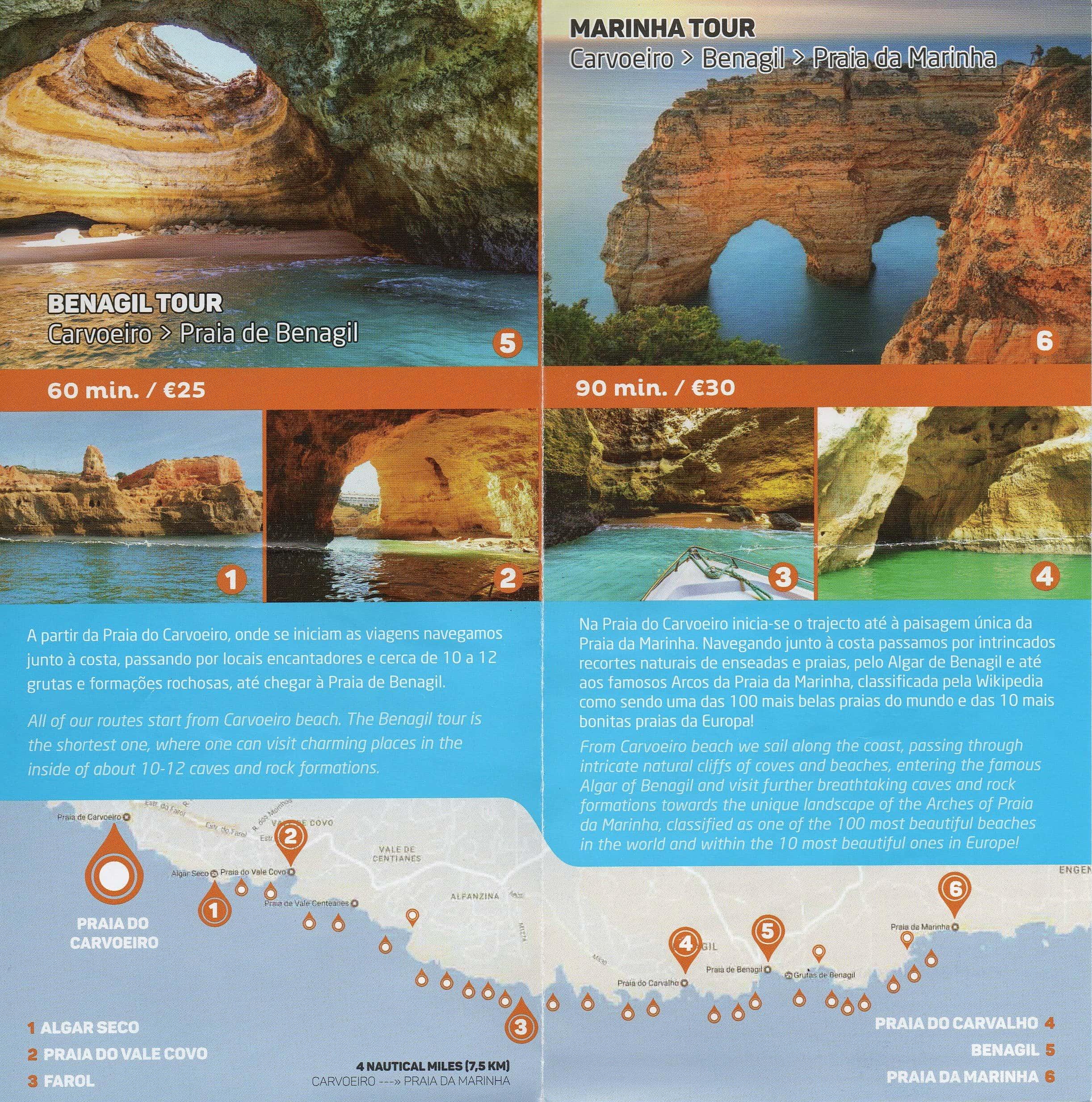 Algarve mapa