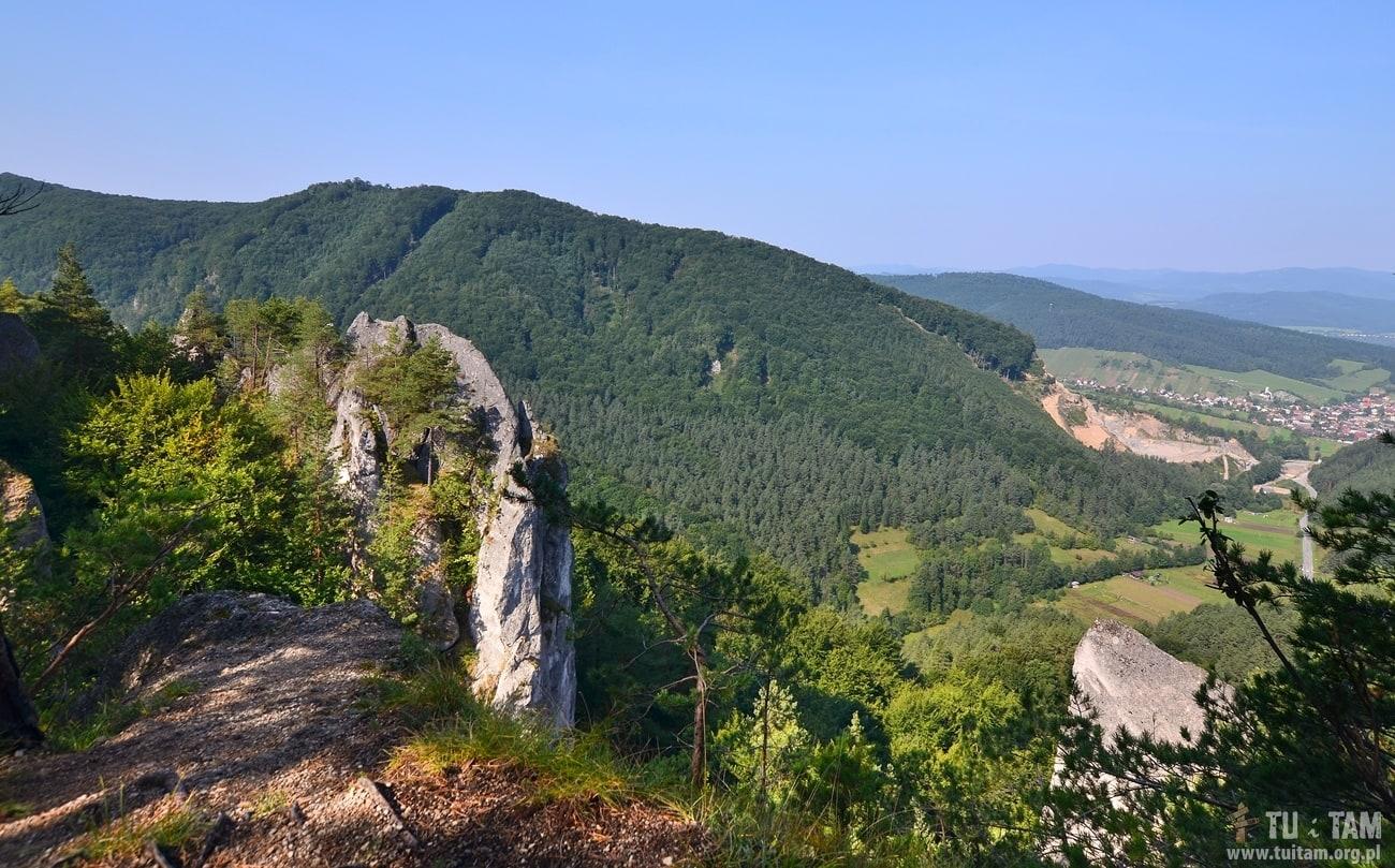 Sulovskie skały - zamek