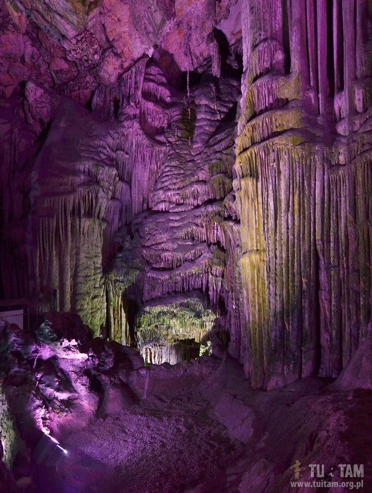 Gibraltar - Jaskinia Św. Michała