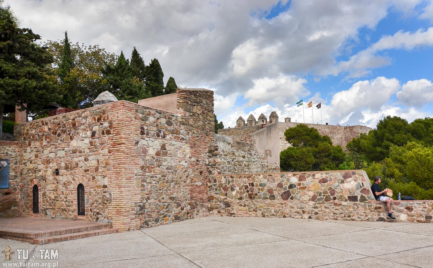 Zamek Gibralfaro, Malaga