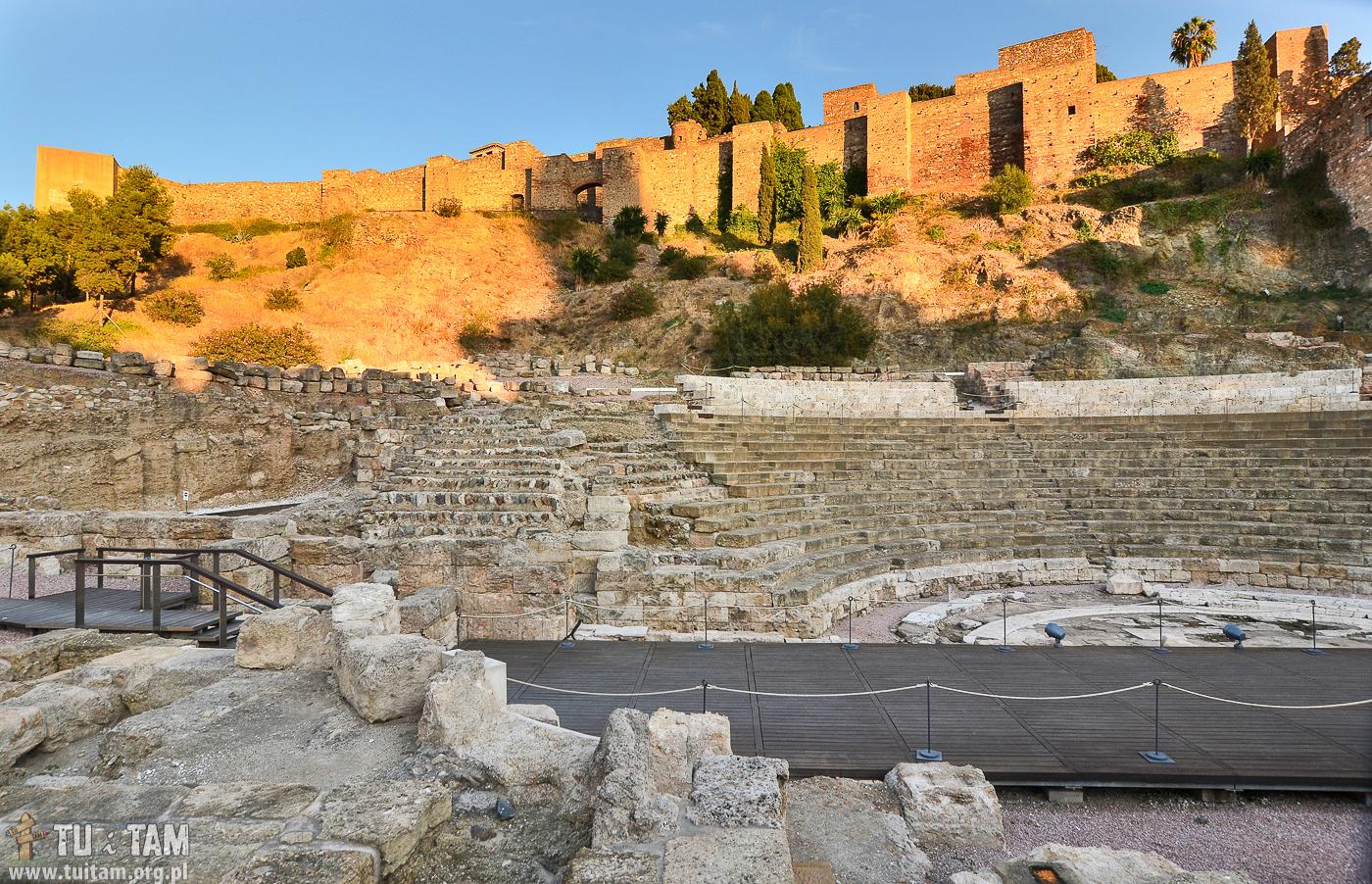 Teatr Rzymski, Malaga