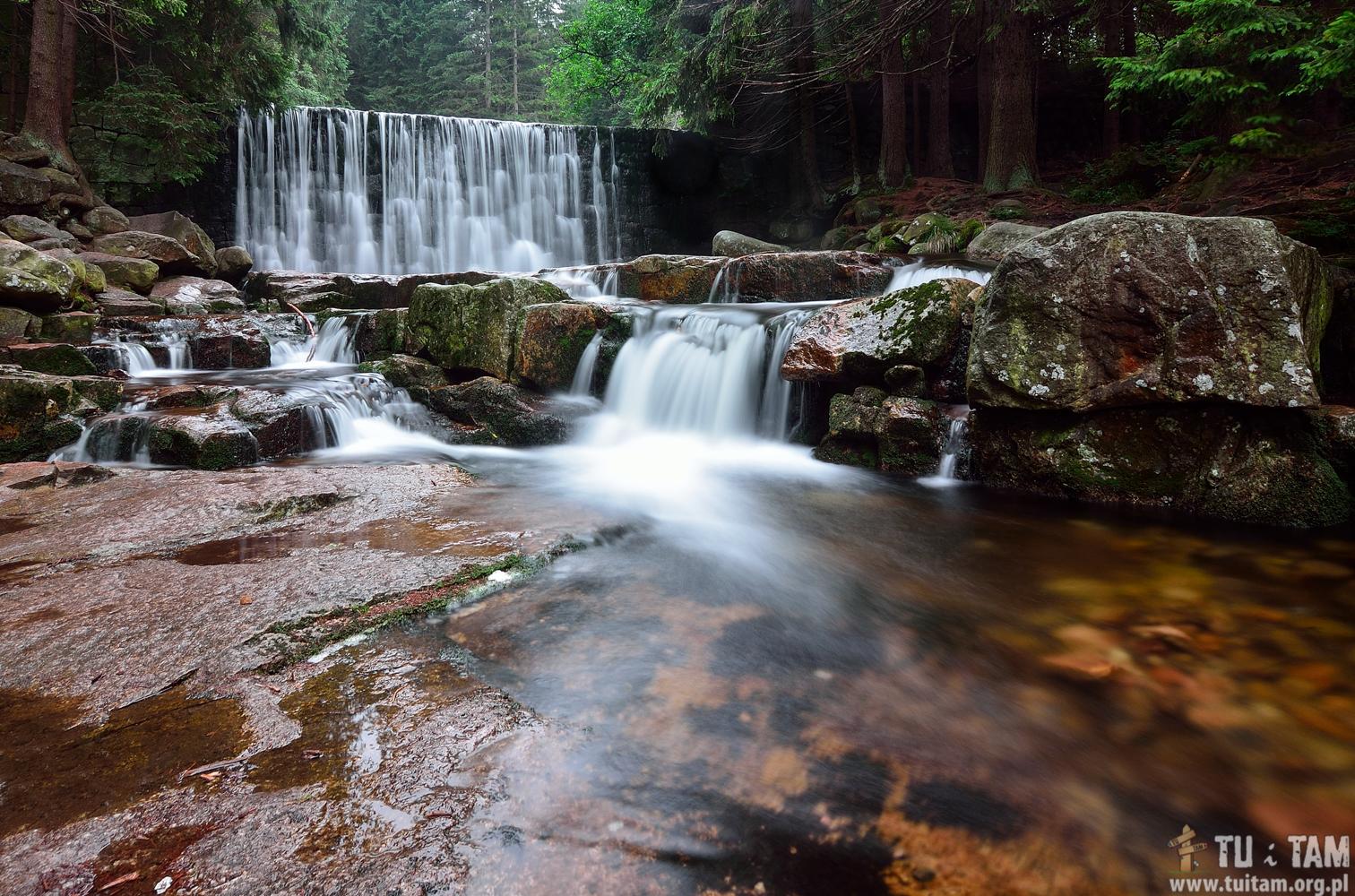 Najpiękniejsze wodospady w Polsce - Wodospad Dziki